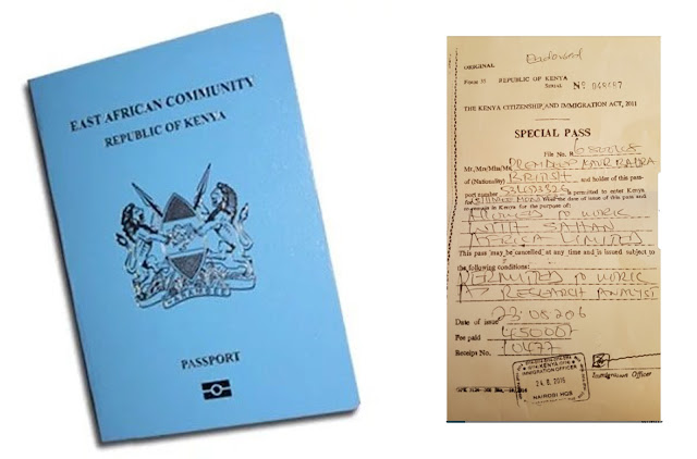 How to Acquire Immigration Special Pass in Kenya