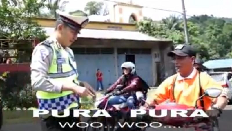 Pria pura-pura bisu saat dirazia polisi di Tomohon