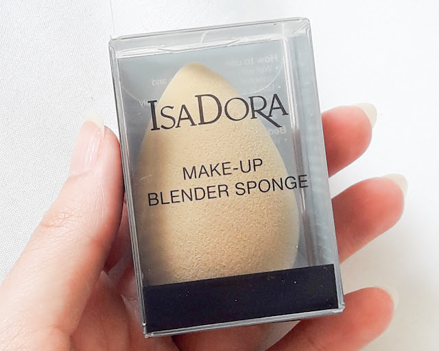 isadora make up éponge maquillage