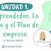 """Diapositivas Fundamentos de Administración y Gestión (FAG). Tema 1 """"Emprendedor. La idea y el plan de empresa"""""""