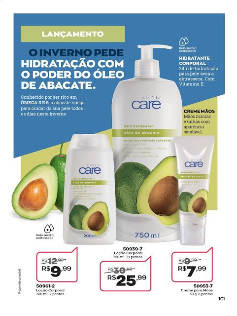 Resenha loção Desodorante Corporal oleo de abacate Avon Care Dicas da Tia 2