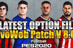 New Option File For EvoWeb Patch V8 (02/10/2020) - PES 2020