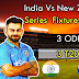NEW ZEALAND vs INDIA 3 ODI SERIES 29 October 2017