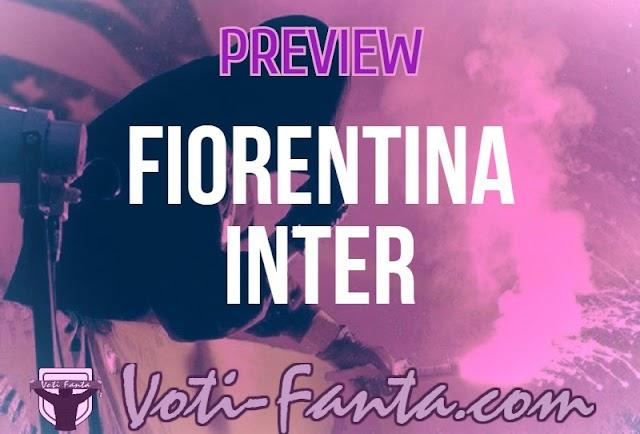 Preview Fiorentina Inter probabili formazioni, infortuni e ultime notizie