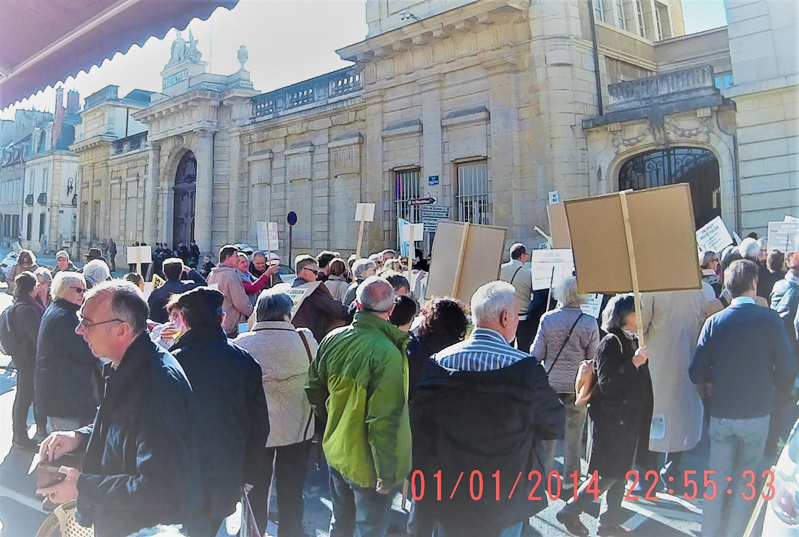 Manifestation le 15 octobre 2016