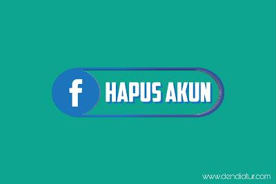 Tutorial lengkap cara menghapus akun facebook secara lengkap hanya lewat hp android