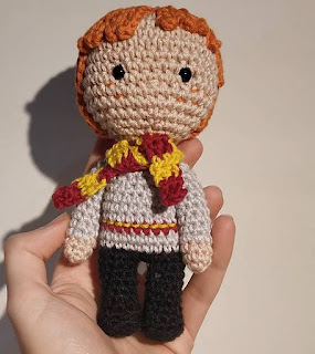 PATRON GRATIS RON | HARRY POTTER AMIGURUMI 42034