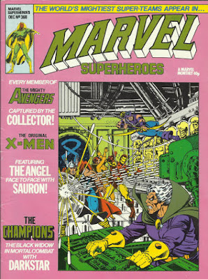 Marvel Superheroes #368, Avengers vs the Collector