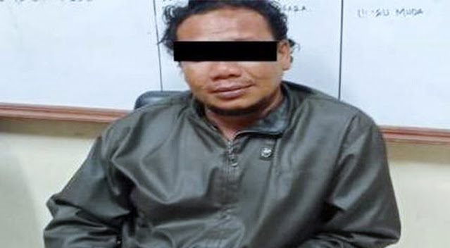 Ini Tampang Pelaku Penusuk Ustadz di Aceh saat Ceramah Maulid Nabi
