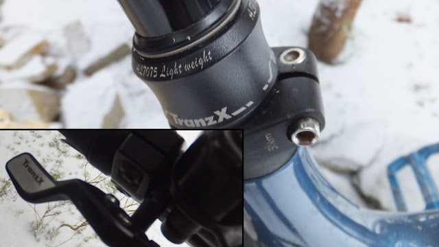 TranzX Dropper Post Fat Bike