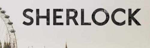 Tipografía de la serie Sherlock