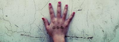 A marca e o número da Besta
