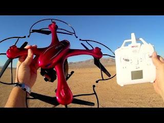 Spesifikasi Drone MJX X102H - GudangDrone