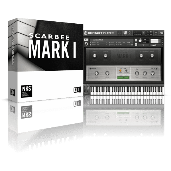 Native Instruments Scarbee Mark I KONTAKT Library