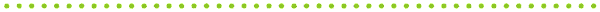 ドットのライン素材(緑)