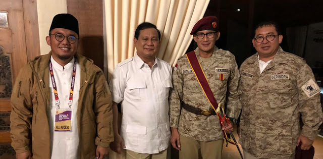 Sandi Gantikan Posisi Prabowo, Dasco: Itu Hoax!