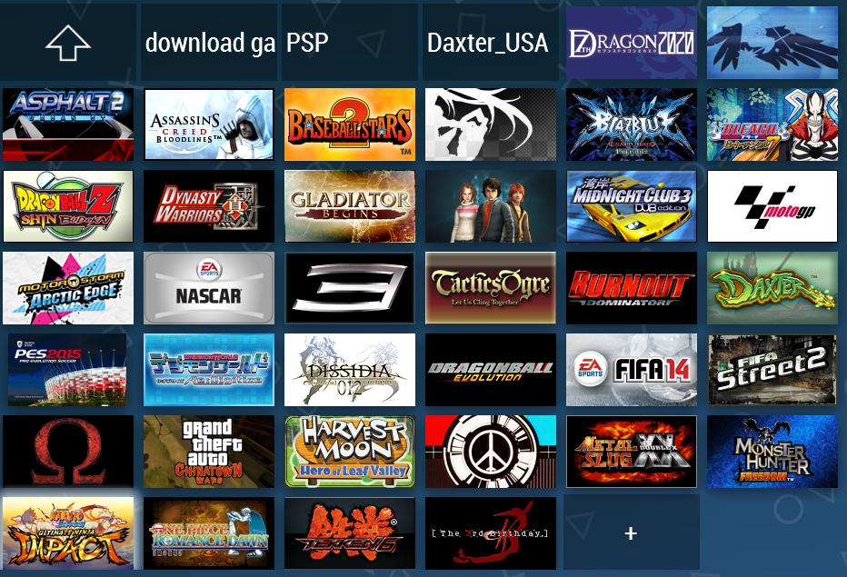 download kumpulan game ppsspp iso terbaru
