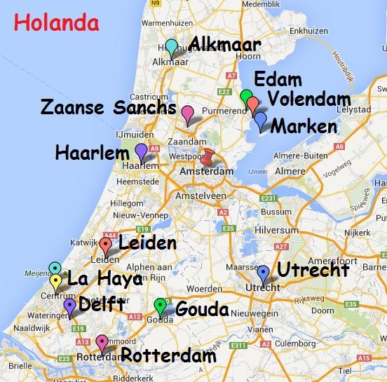 holanda mapa turistico 12 días por Bélgica y Holanda   Callejeando por el mundo holanda mapa turistico