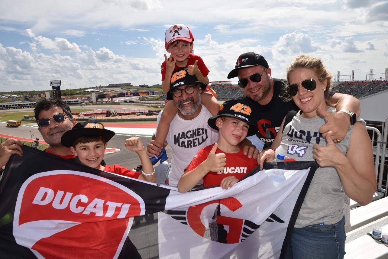 COTA MotoGP in Austin Texas with Gotham Ducati