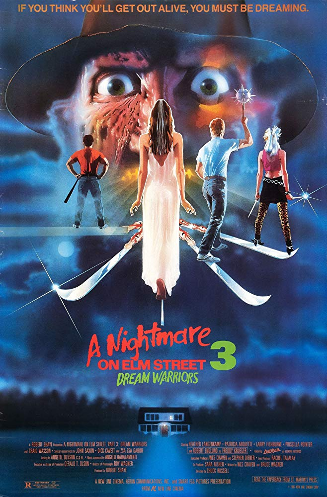 "Movie Review: ""A Nightmare on Elm Street 3: Dream Warriors"" (1987)"