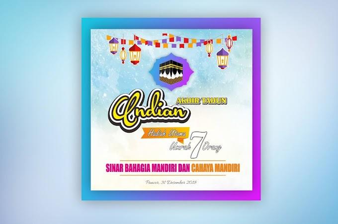Download Desain Undian Sederhana CDR