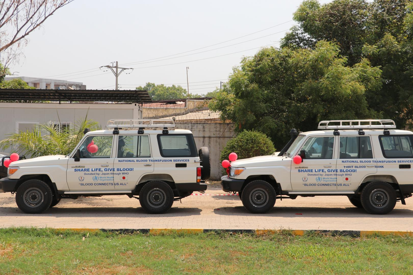WHO and the Government of Japan establish a port health facility in South Sudan
