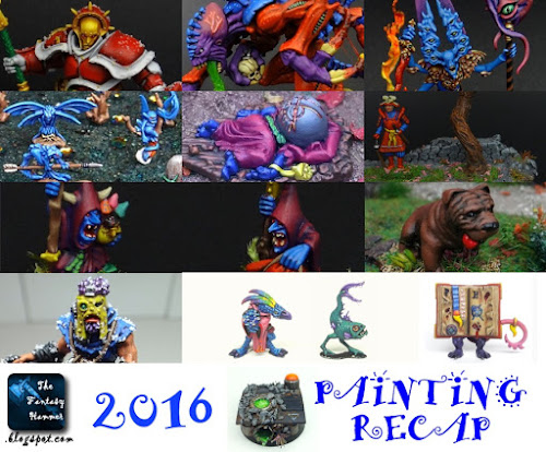 The Fantasy Hammer 2016 painting recap