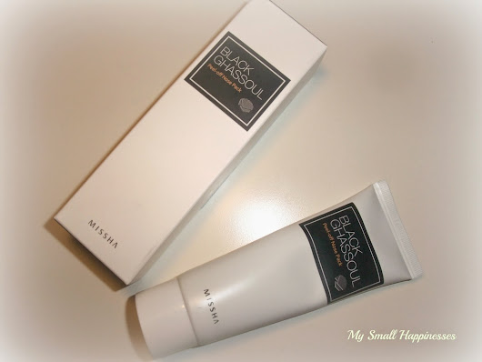 Recenze - MISSHA Black Ghassoul Peel-off Nose Pack