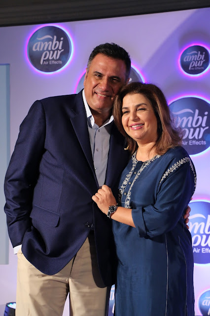 Boman Irani and Farah Khan at the culmination of Ambi Pur National Smelf...