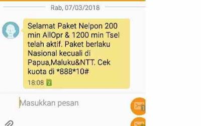 Kamu pengguna Telkomsel bisa membeli Paket Nelpon Telkomsel mulai dari Kuota Paket Nelpon Cara Membeli Paket Nelpon Telkomsel Kartu As dan Simpati Kuota 1200 menit dan 120 Menit