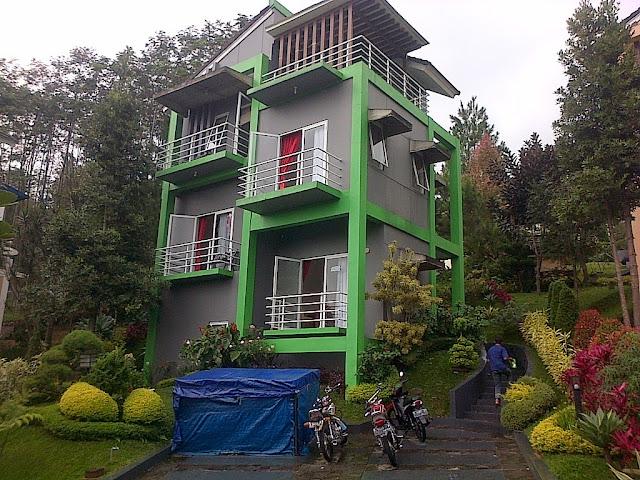 Sewa villa kota bunga cluster norwich 2kamar