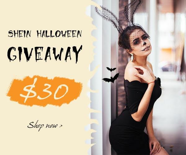 GIVEAWAY/SÚŤAŽ: win $30 coupon with SheIn Halloween (worldwide)