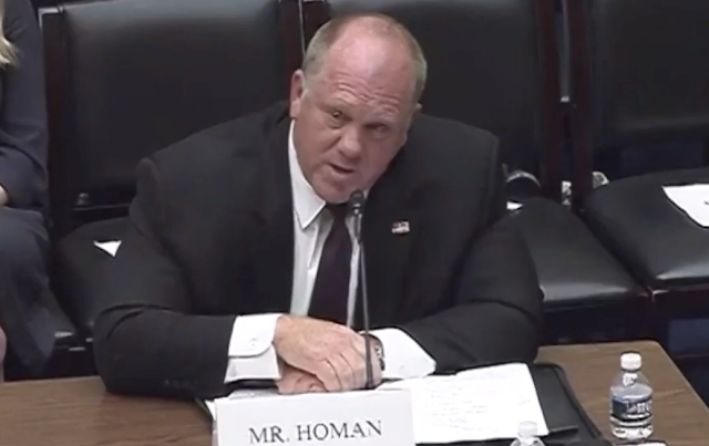 Former ICE Director Tom Homan Explains to AOC that Crossing the Border Illegally is Illegal