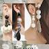 Fancy pearl and ball earrings