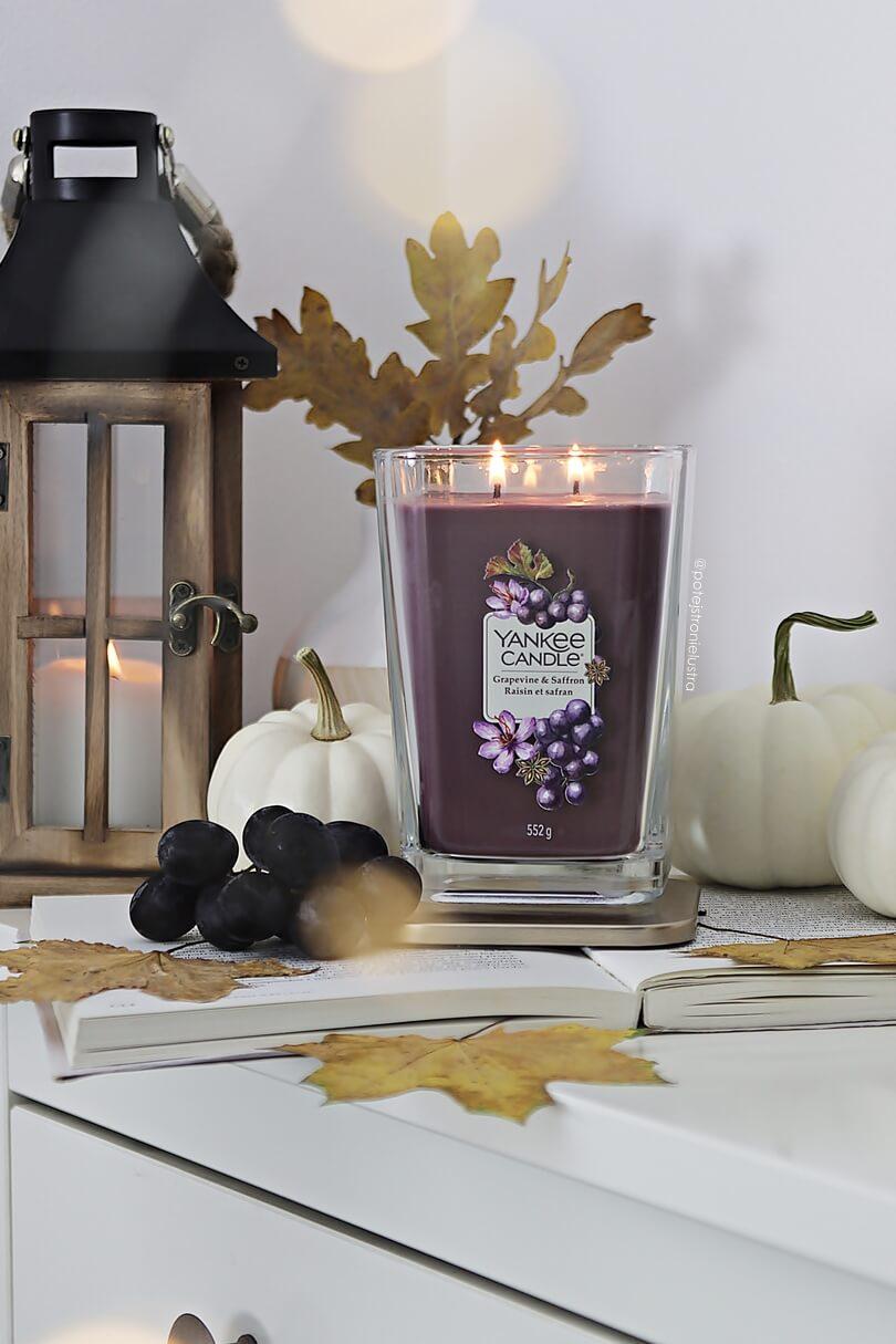 yankee candle grapevine & saffron świeca zapachowa