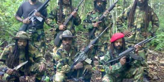Semakin Berani, Kelompok Teroris Papua Tahan 1.300 Warga Tak Berdosa