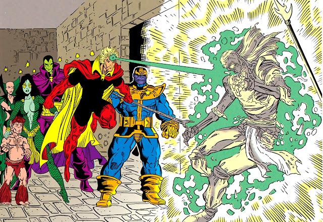 La Guardia del Infinito y Thanos