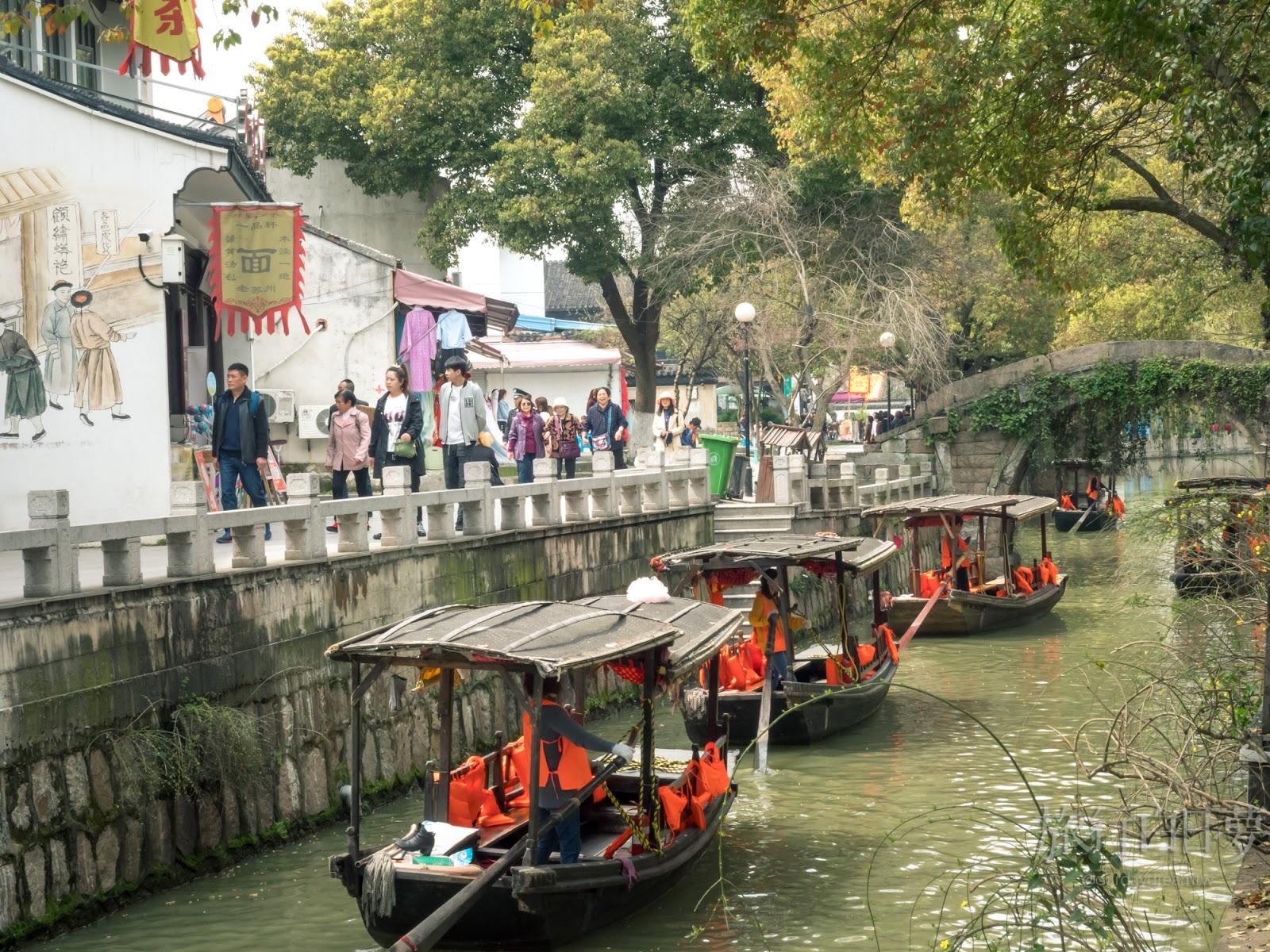 蘇州水鄉│乾隆最愛「木瀆古鎮」 原來蘇州有兩個山塘街?
