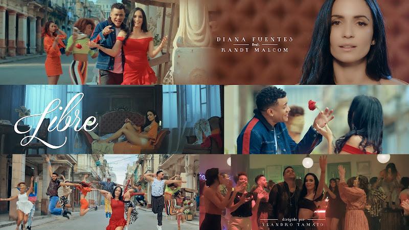 Diana Fuentes & Randy Malcom - ¨Libre¨ (Remix) - Videoclip - Director: Yeandro Tamayo. Portal Del Vídeo Clip Cubano