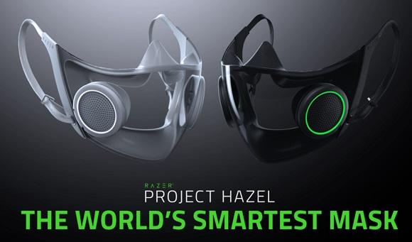 Project Hazel smart mask from Razer