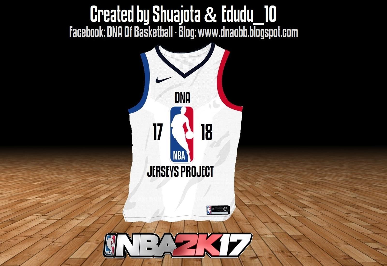 2f44e981fbd5 NBA 2K17 DNA Jerseys Project 17-18 by Shuajota   Edudu 10 RELEASED.  Shuajota 2 years ago NBA 2K17 Jerseys