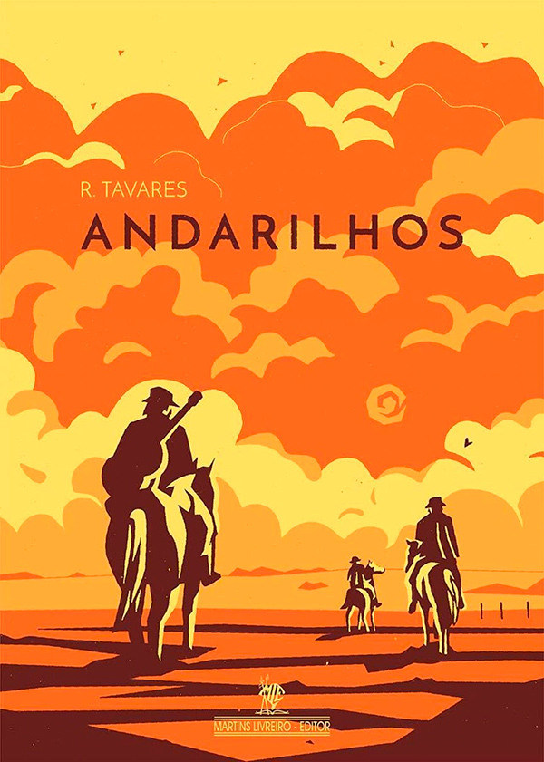 Capa do livro Andarilhos, de R. Tavares