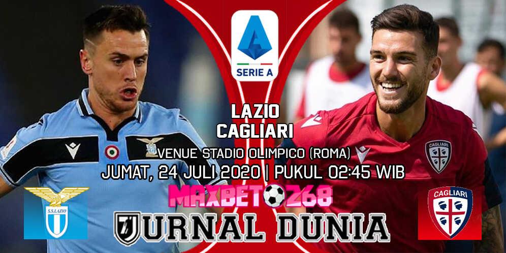Prediksi Lazio vs Cagliari 24 Juli 2020 Pukul 02:45 WIB