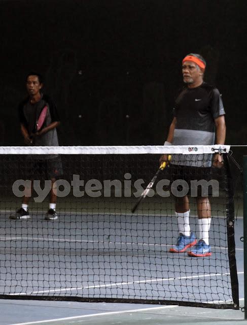 Usai Ukir Prestasi di Kejuaraan Tenis Veteran Piala Bupati Tulungagung, Muji Slamet Alihkan Fokus ke Nganjuk Open