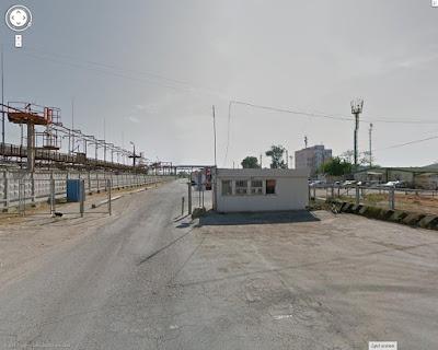 Port Kaukaz, brama wjazdowa