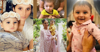 Awesome Pictures of Sania Mirza with her Cute Son Izhaan Mirza Malik