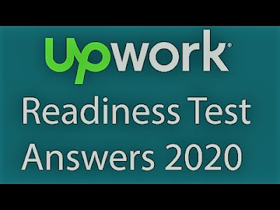 Upwork readiness test answer 2020