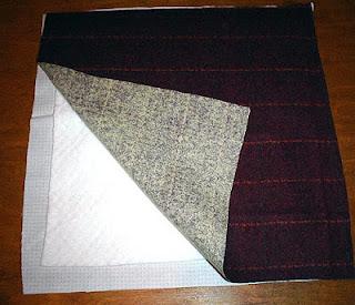 manta patchwork coração -tecnica rag-quilt com PAP (DIY)