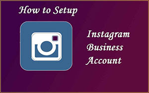 create a business account on instagram