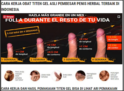 titan gel rusia original